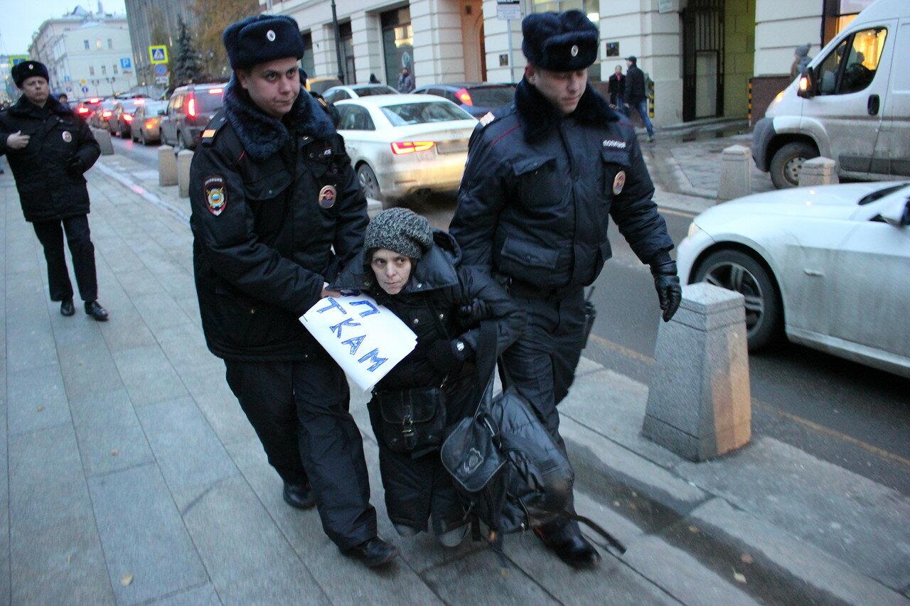 в защиту Ильдара Дадина и за отмену 212.1 статьи УК РФ