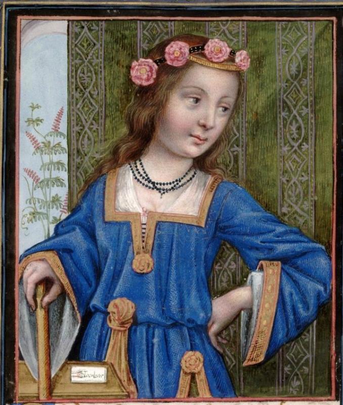 Hypsipyle -- Huntington Library Ms HM 60, f°30 Les XXI Epistres des Dames illustres traduicttes d'Ovide par le Reverend Pere en Dieu Monseigneur l'Eves.jpg