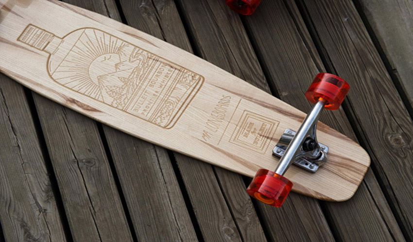 Made For Bulleit x Ma Longboards