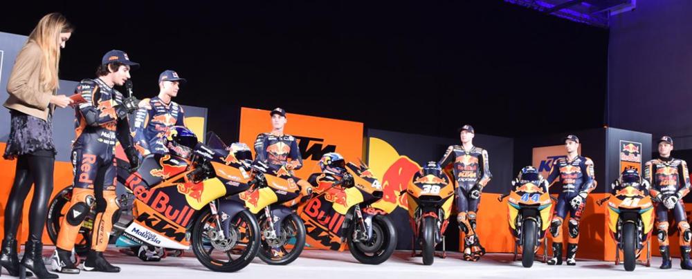 Презентация команды KTM MotoGP 2017