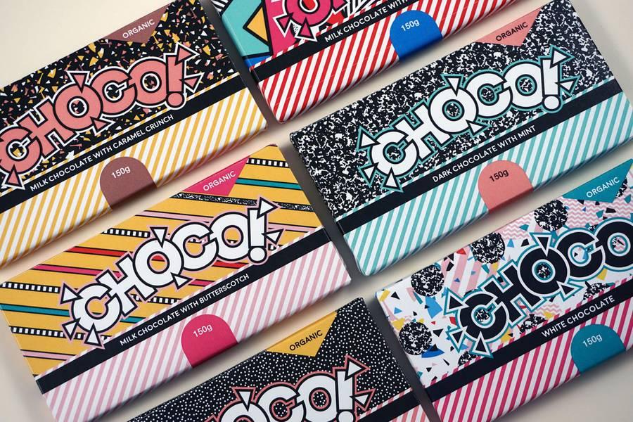 The Pop Visual Identity of CHOCO