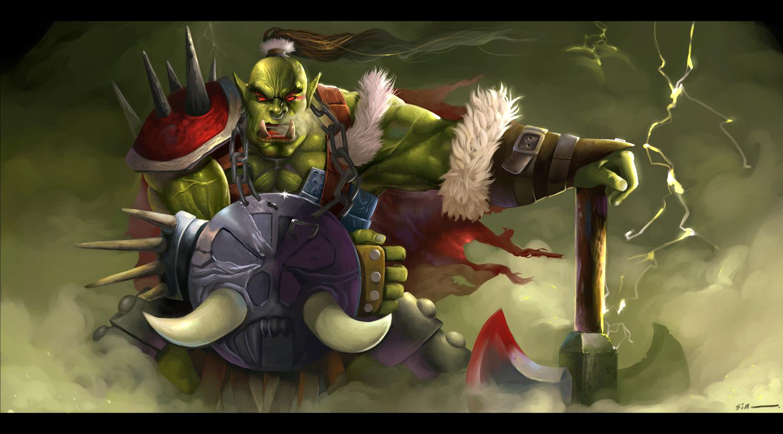 Warcraft orc shia naked video