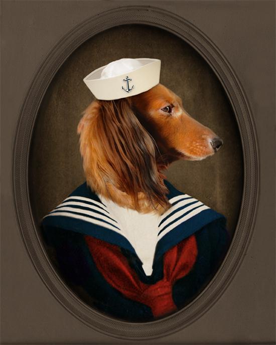 Лиза Ховарт. Превращение собак в исторических персонажей