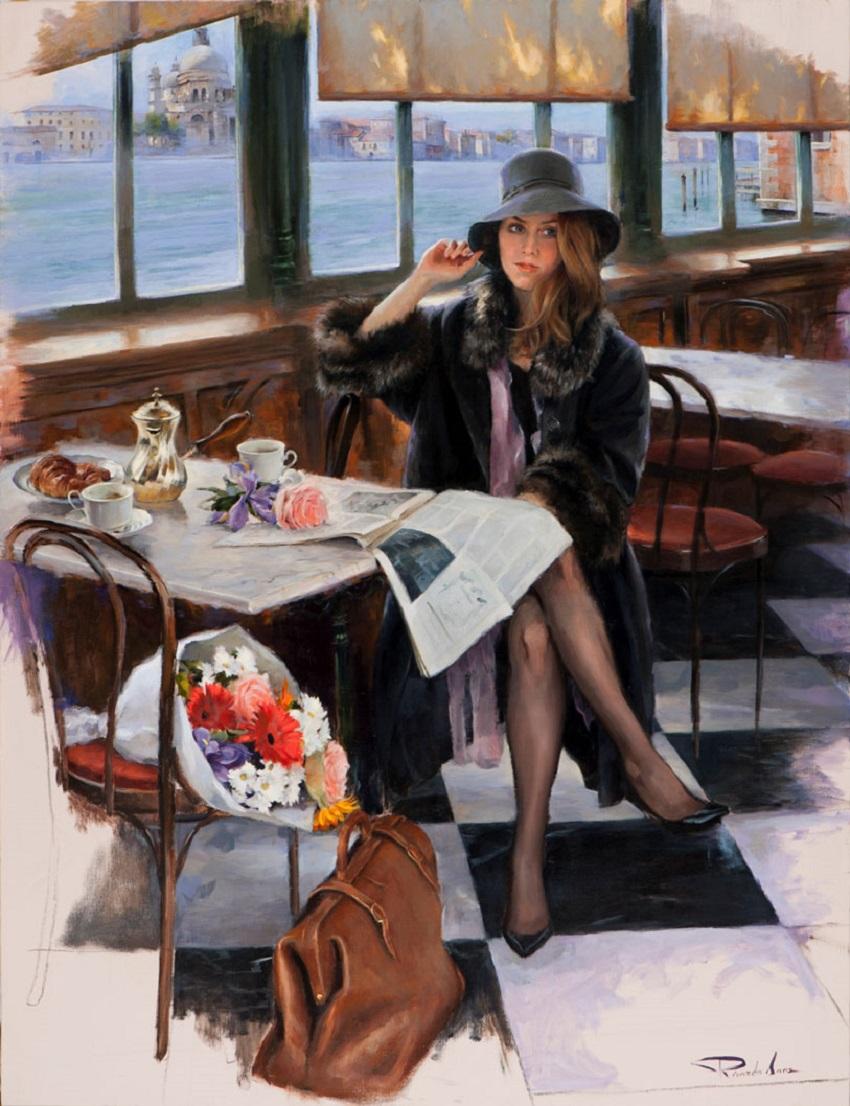Ricardo Sanz – Esperando en el Café