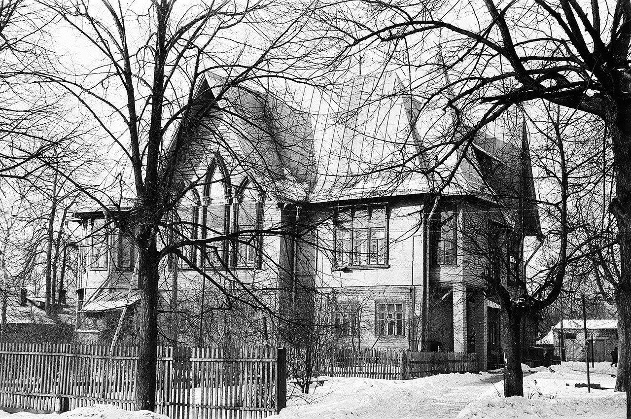 1974. Дом № 15 по 6-му Лучевому просеку