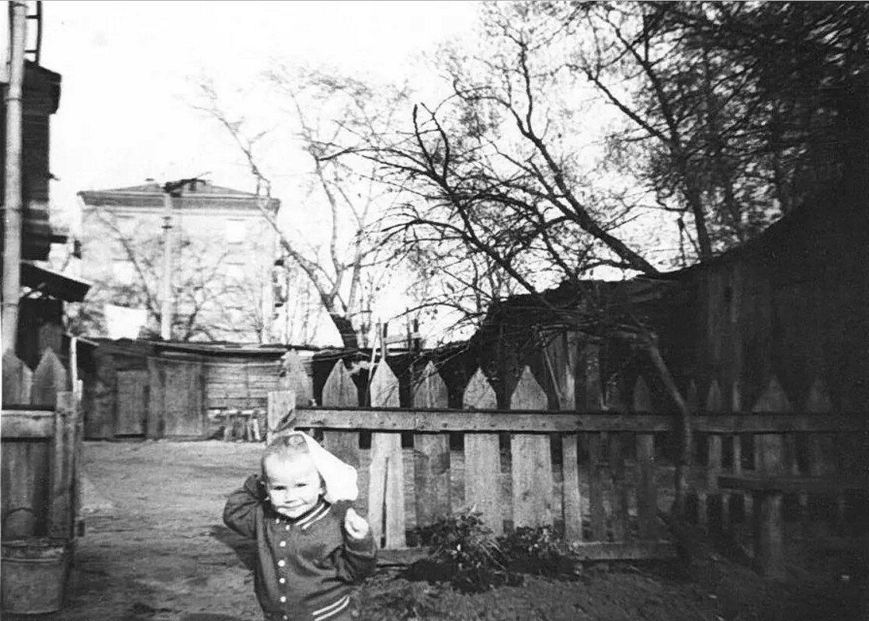 1962. Марьина роща (домашний архив Наталии Алферьевой)