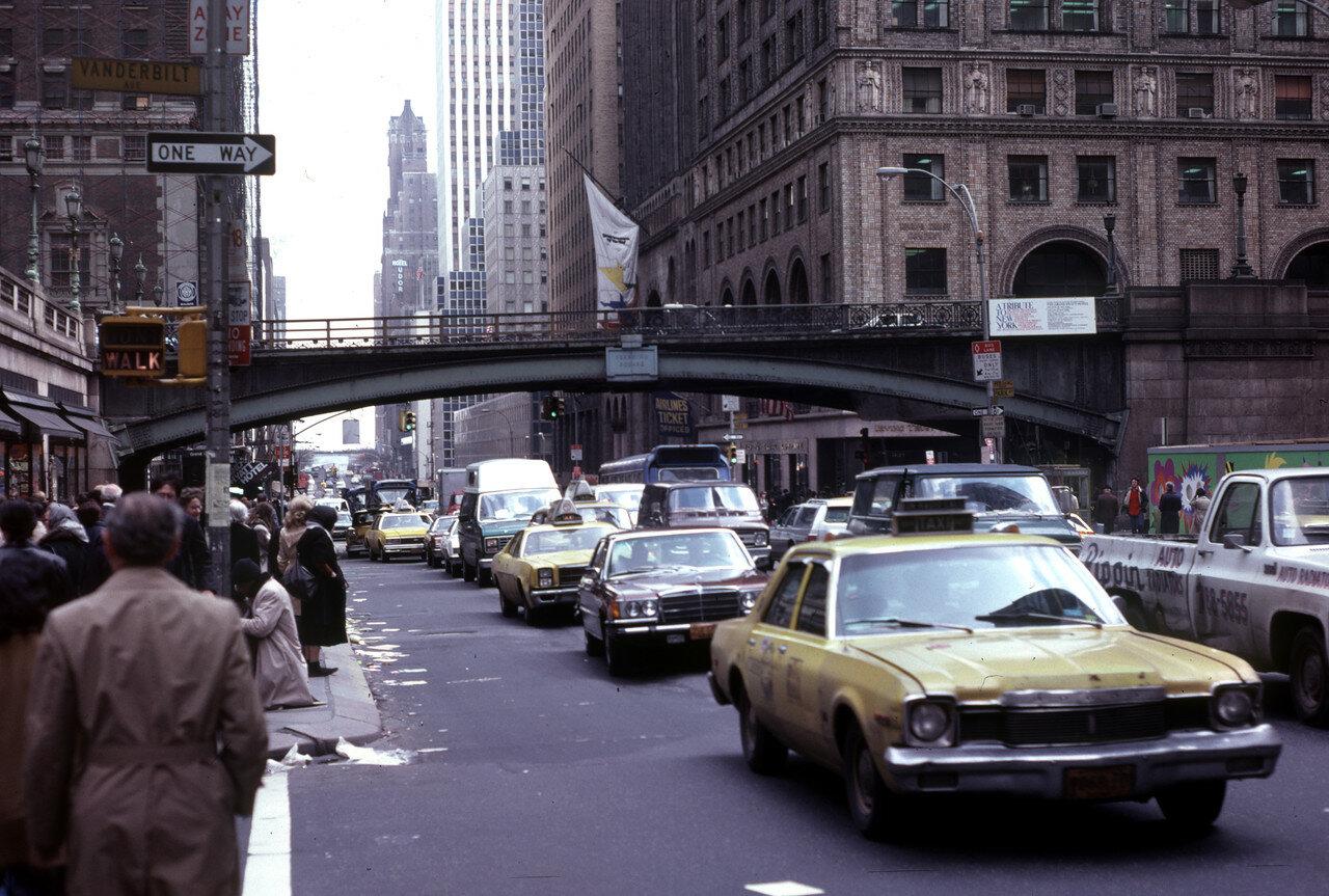 Нью-Йорк. В районе Центрального вокзала