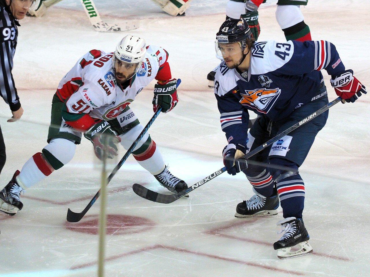 47 Первая игра финала плей-офф восточной конференции 2017 Металлург - АкБарс 24.03.2017