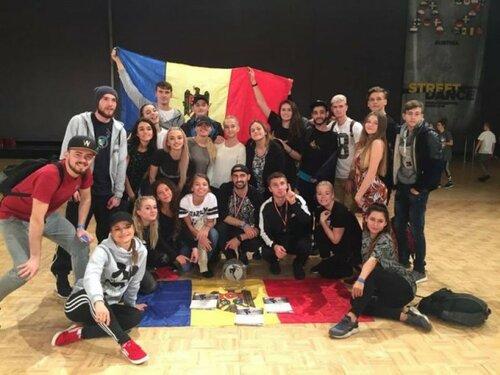 Молдова завоевала золотую медаль на Чемпионате по танцам