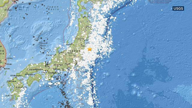 В японской префектуре Фукусима землетрясение - возможно цунами, объявлена эвакуация, внештатных ситуаций на АЭС нет. ВИДЕО