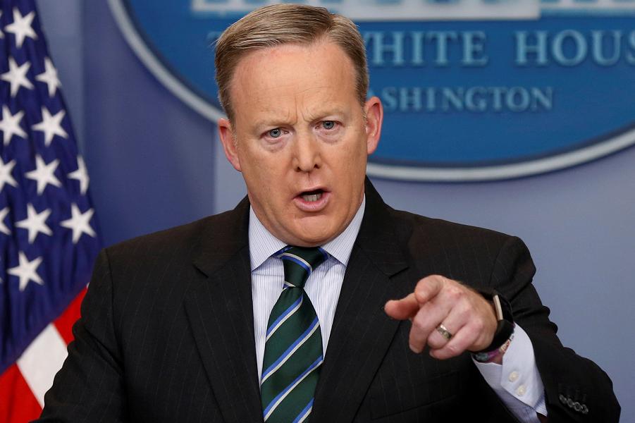 Шон Спайсер, пресс-секретарь Белого дома.png