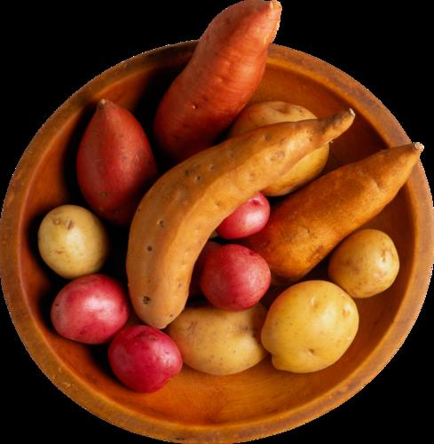миска с картошкой