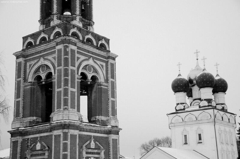 Храмовый ансамбль (ансамбль Архангельского собора) в Бронницах