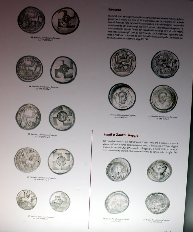 Jela. Archaeological museum. Coin collection