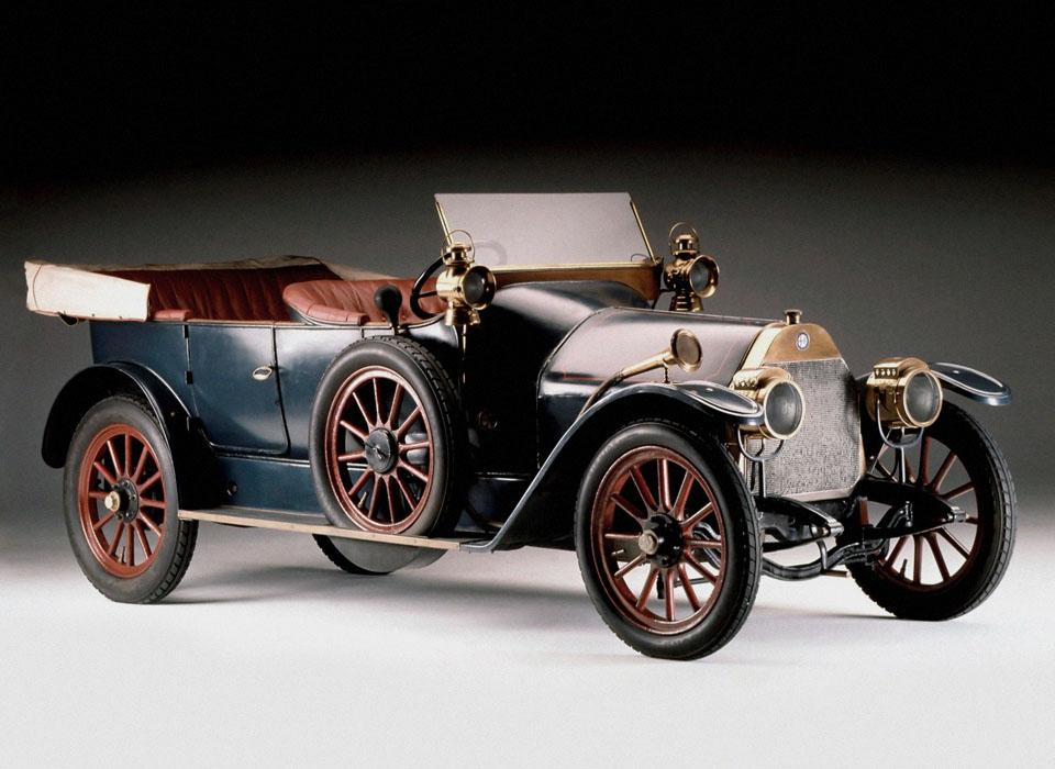 1. Alfa Romeo — A.L.F.A. 24 h.p. (1910) Как известно, название знаменитого миланского бренда &