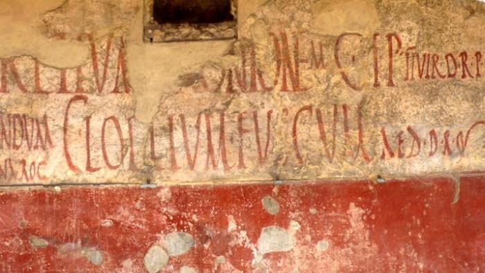 Описание очевидцев Плиний Младший, чей дядя и приемный отец Плиний Старший погиб во время из