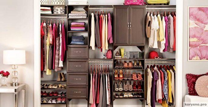 Прокачаем шкаф! Как выжать максимум пользы из имеющегося пространства (13 фото)