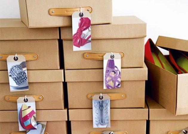 Найти среди множества обувных коробокнужную — не такая лёгкаязадача, как можно подумать. Делае