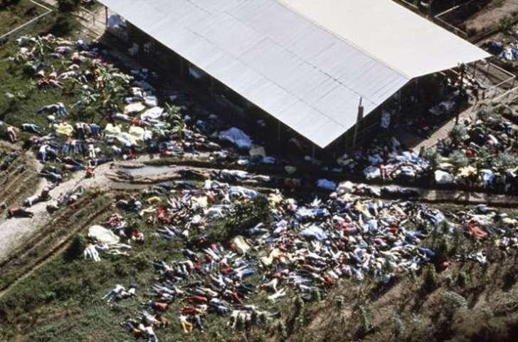 «Храм народов».  Американский проповедник Джим Джонс (Jim Jones) основал религиозное движени