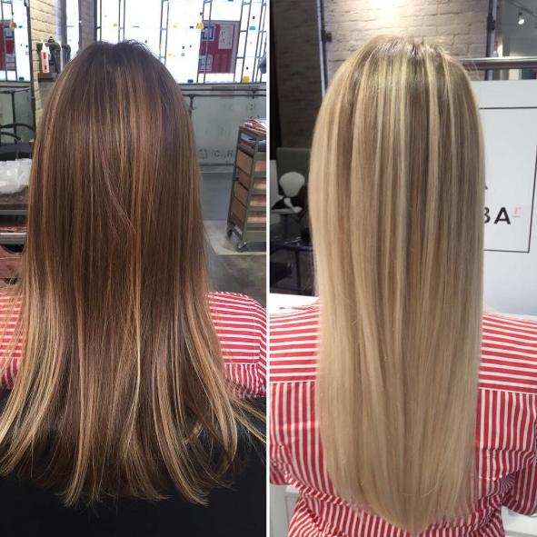 Мелирование волос (1 фото)