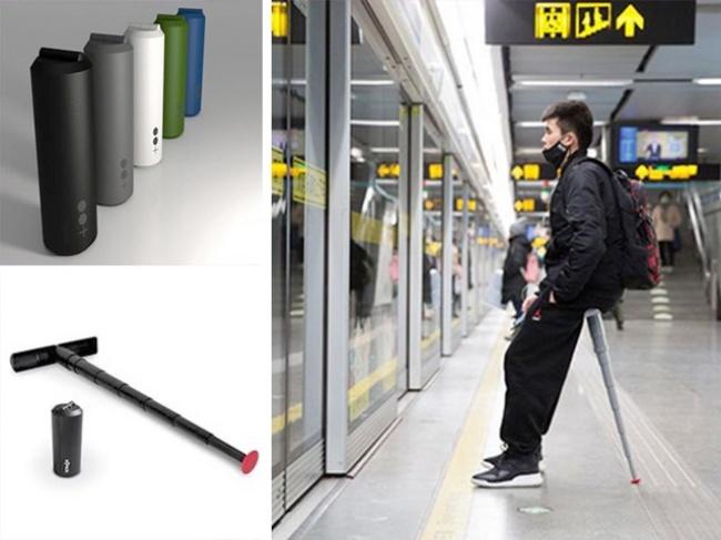 © sitpack.dk  Оригинальную разработку портативного стула представила дизайн-студия «Mono + Mon