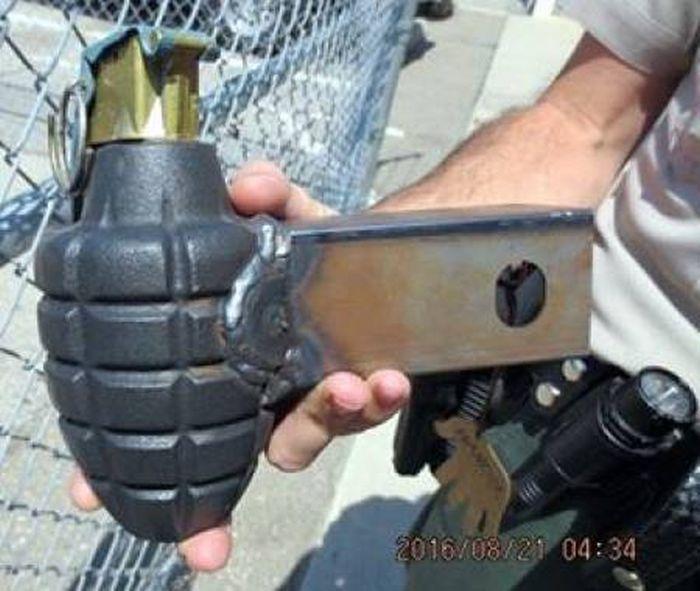 Оружие, которое люди пытались пронести на самолет