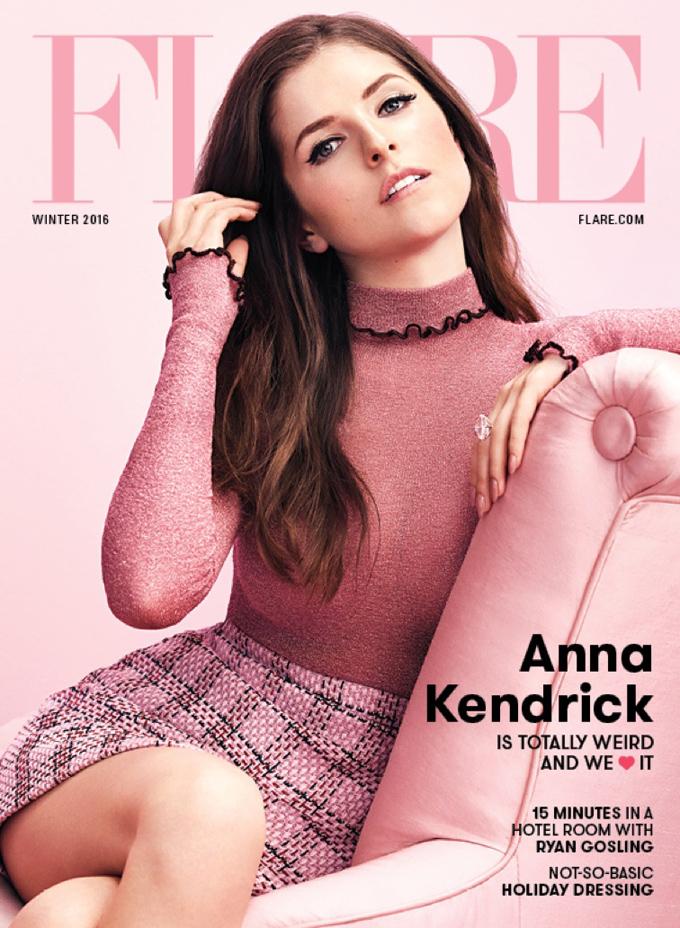 Анна Кендрик на обложке FLARE Magazine