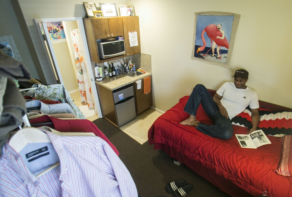 «Это вариант был доступен мне по средствам: квартира расположена в центре города и стоит всего 1200