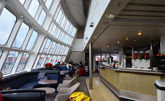 Вид на зону Club Lounge.