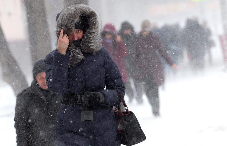 В столице России ожидаются снегопады иметели, объявлен «оранжевый» уровень опасности