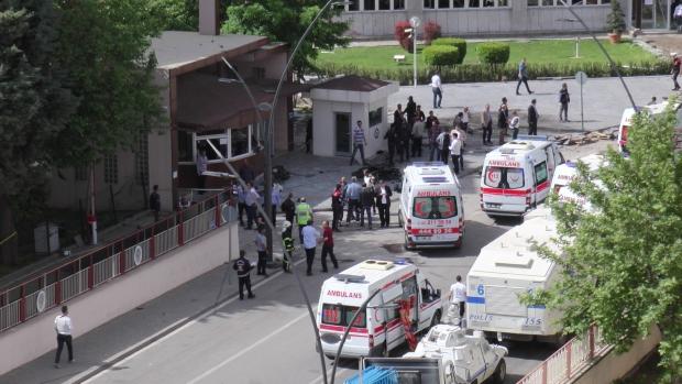 Наюге Турции произошел взрыв, ранен губернатор