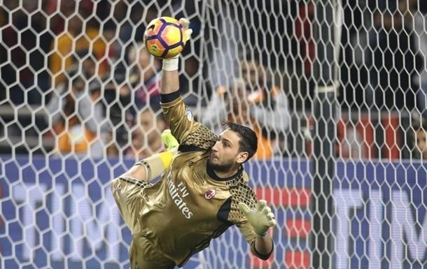 «Милан» планирует предложить Доннарумме договор на50 млн