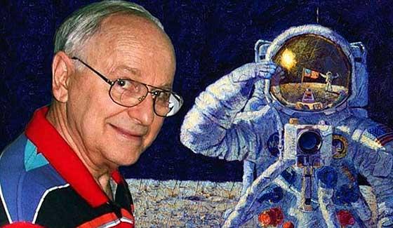 Астронавт, побывавший наЛуне, раскрыл шокирующую тайну обинопланетянах