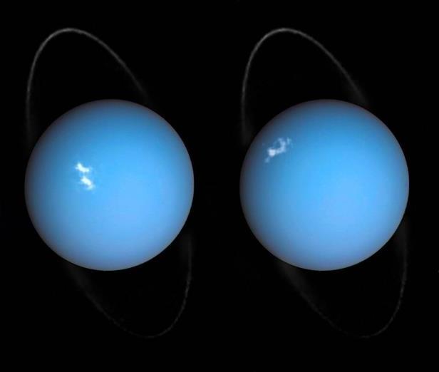 Хаббл заснял сияние вокруг Урана: NASA опубликовало видео