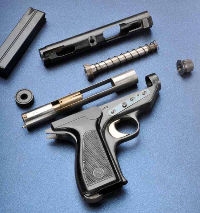 Пистолет, запрещенный из-за своей эффективности