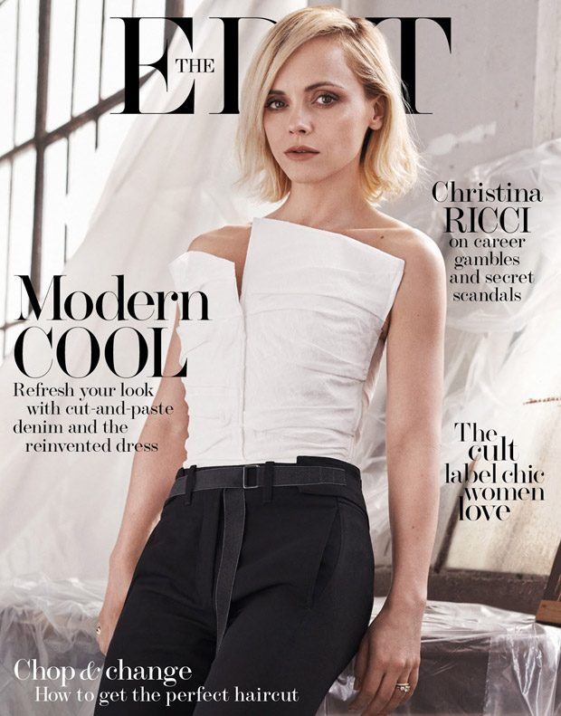 Make or Break: Christina Ricci Stars in The Edit Magazine Cover Story
