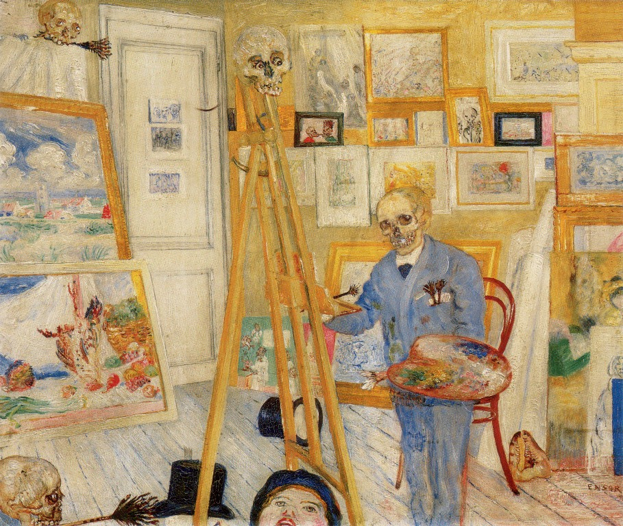 1-Живопись_James-Ensor_The-Skeleton-Painter.-1896.jpg