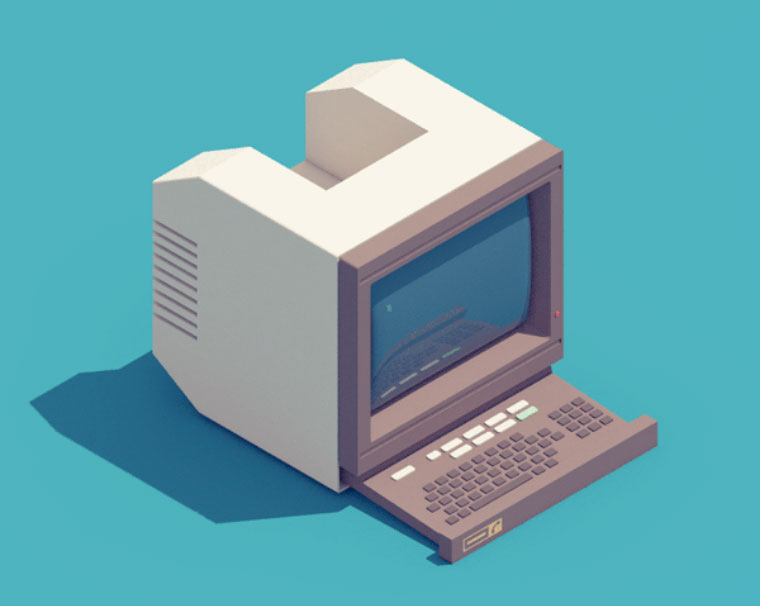 Electronic Items - Les GIFs animes retro de Guillaume Kurkdjian