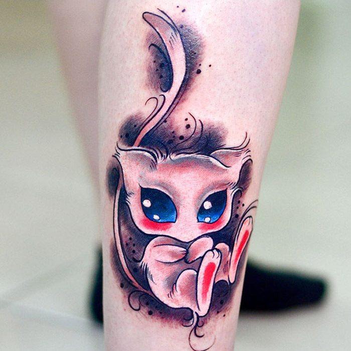 15 ideias incriveis de tatuagens para os fas de Pokemon (15 pics)