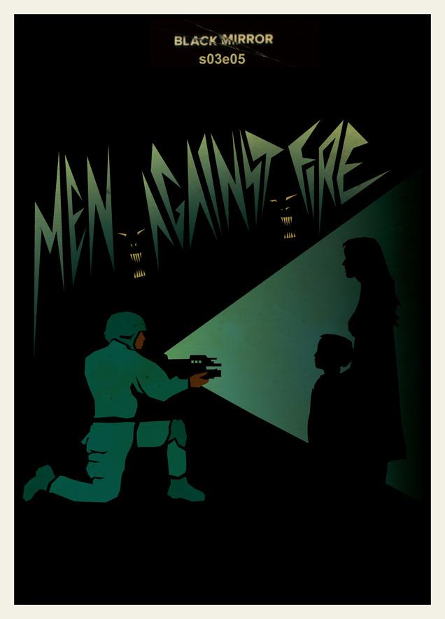 Black Mirror Minimalist Posters