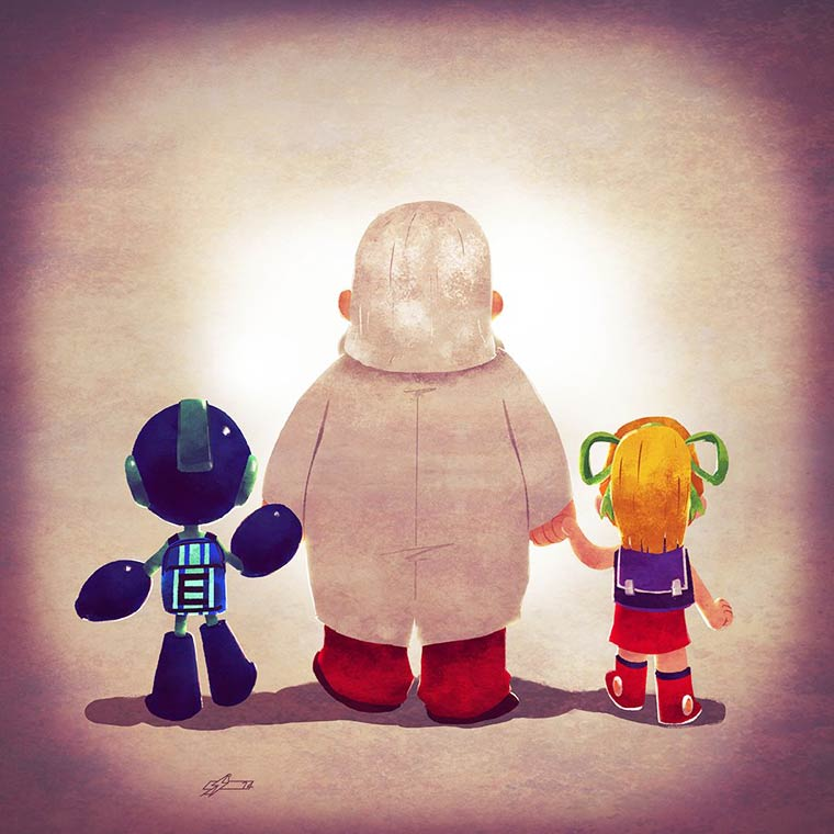 Super Families serie 4 - Les familles cultes des jeux video vues par Andry Rajoelina