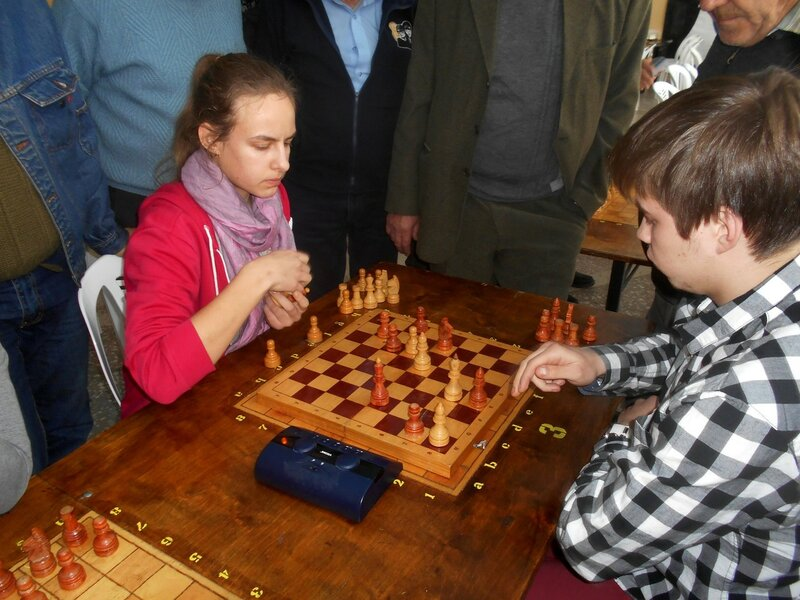 В цейтноте ... Шахматный турнир. Выселки. Декабрь 2016