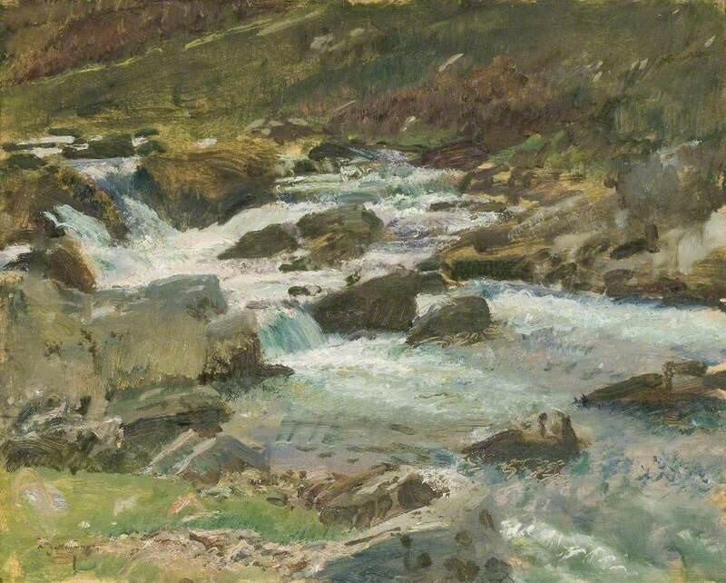 Bagsworthy Water, Exmoor, at Cloud