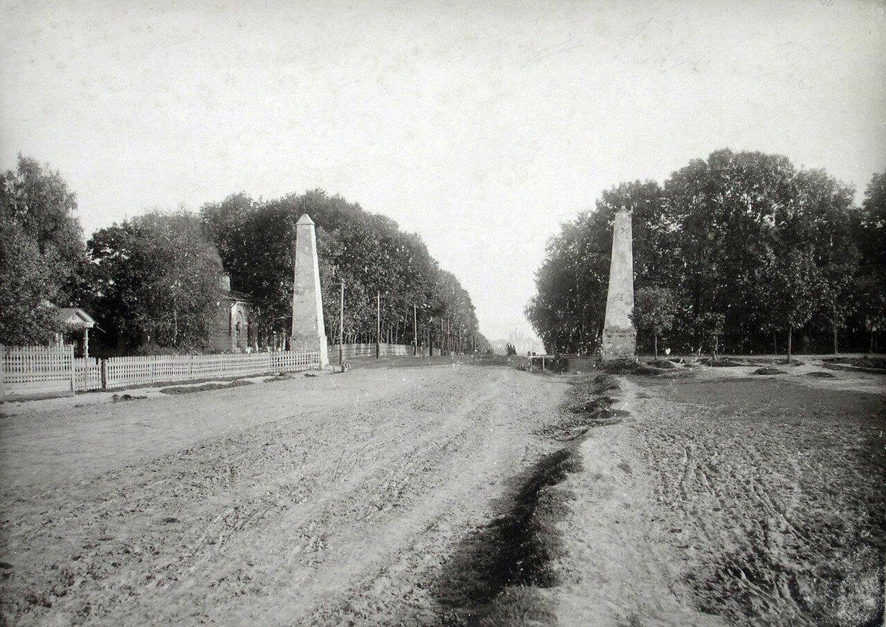 Покровская застава. 1901