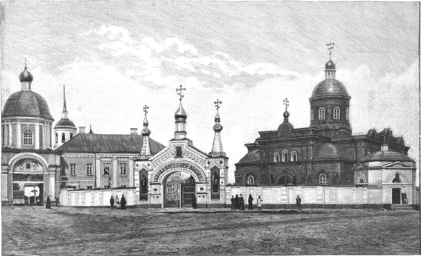 Спасо-Преображенский монастырь (вид с юго-запада)