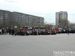 Вагонка,Нижний Тагил,день Победы,парад