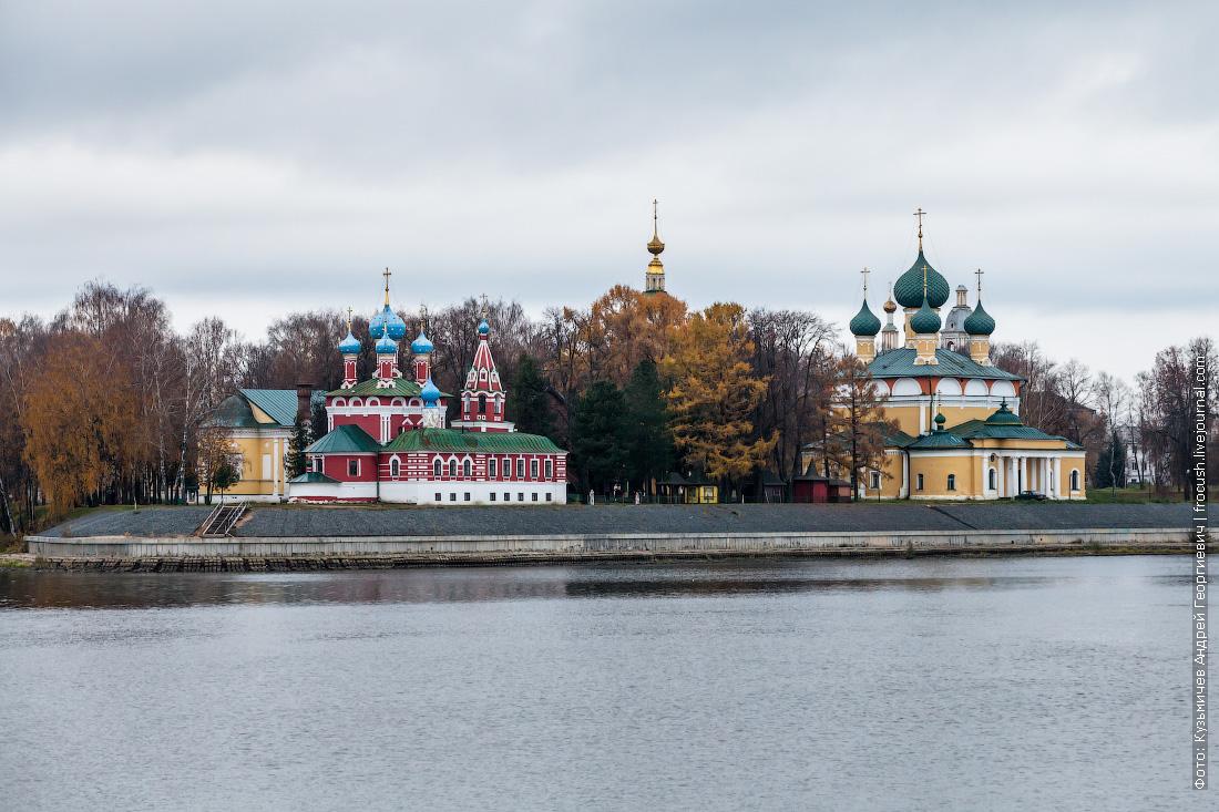 Угличский кремль фотография с Волги