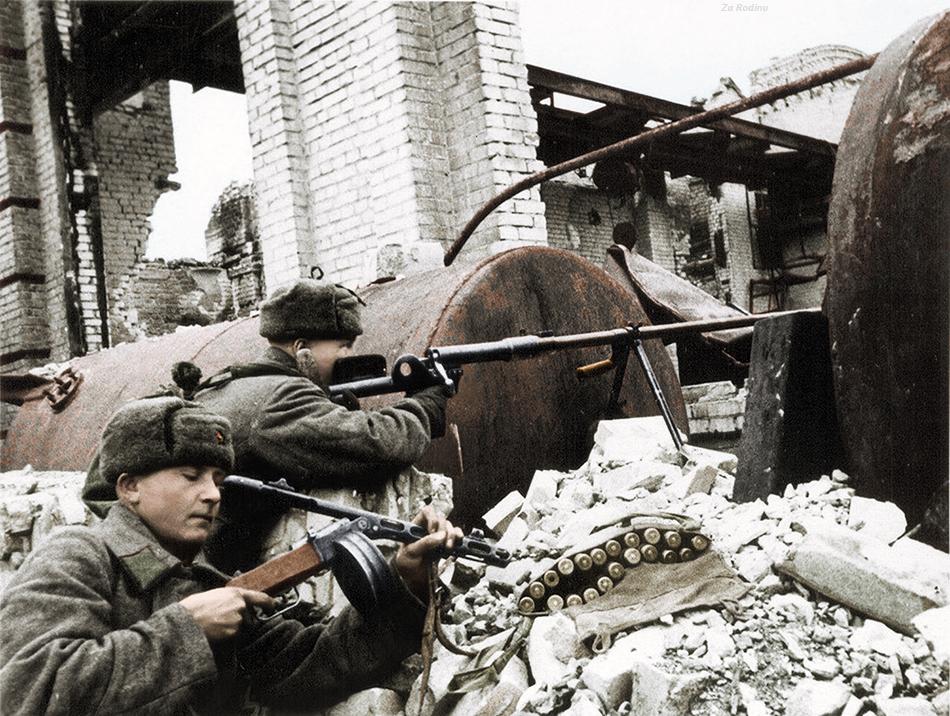 Галичане в Сталинграде.  Сентябрь 1942 г.
