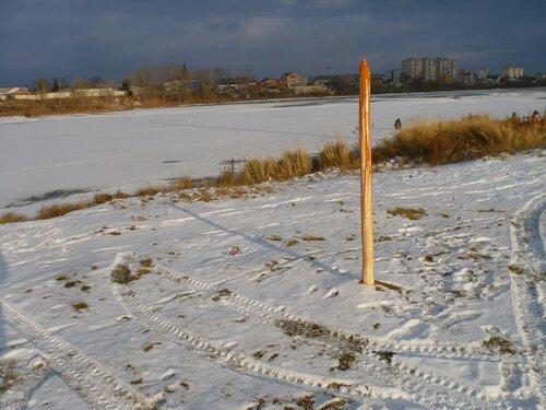 Сибирский художник установил окровавленный кол в память об Иване Грозном