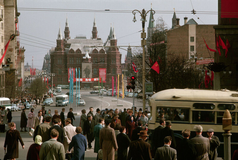 1964 Улица Горького. Дин Конгер.jpg